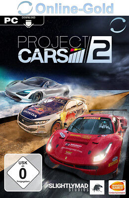 Project CARS 2 II Key - PC STEAM Digital Download Code - Rennspiele [DE/EU]