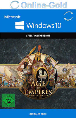 Age of Empires Definitive Edition - Windows 10 PC Download Code [Strategie]DE/EU