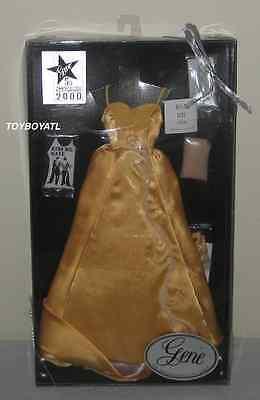 Ashton Drake Gene Marshall Kiss Me Costume Yellow Satin Dress Fashion Outfit - Marshalls Costumes