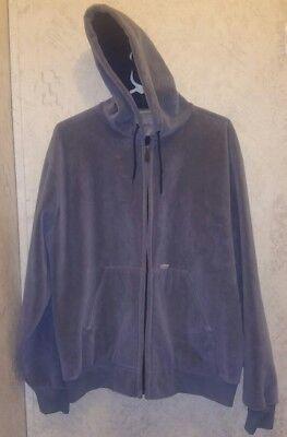 (CARHARTT Gray Blue Midweight Full Zip Super Soft Hoodie Jacket L LARGE Men )