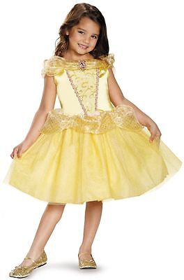 Toddler Belle Costume (Disney Princess Belle Beauty And The Beast Classic Toddler Child)
