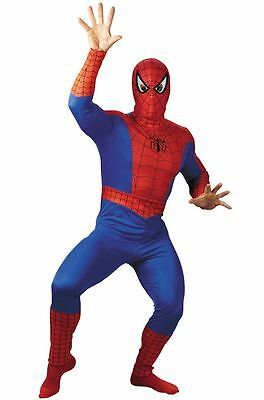 Disguise Spider Man Superhero Comic Adult Plus Costume - Mens Superhero Costumes