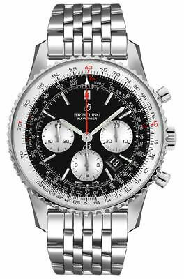 Breitling Navitimer 1 B01 Chronograph 43 Steel Men's Pilot Watch AB0121211B1A1 Breitling Pilot Watch