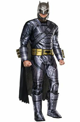 Deluxe Armored Batman Adult Costume & Mask. Batman vs Superman,PRIORITY SHIPPING