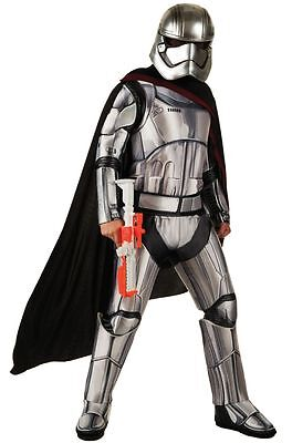 Star Wars The Force Awakens Deluxe Captain Phasma Adult Halloween Costume - Deluxe Star Wars Costumes
