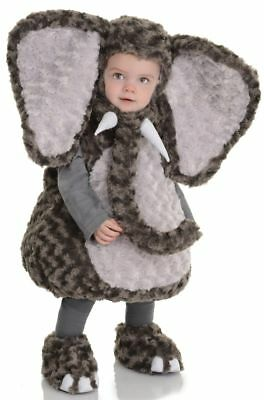 Underwraps Belly Babies Elephant Zoo Animal Toddler Baby Halloween Costume 26115