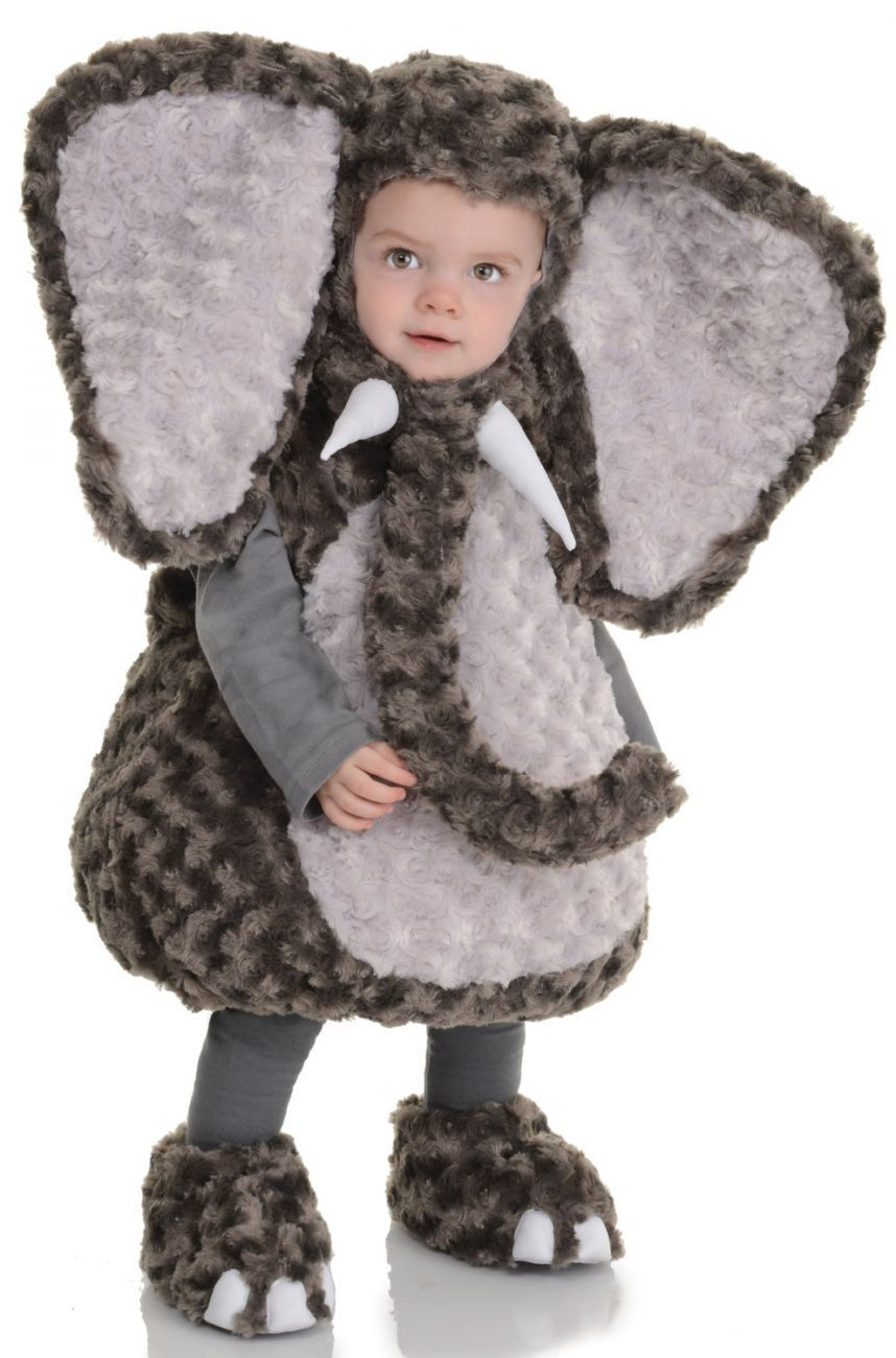 underwraps belly babies elephant zoo animal toddler baby halloween