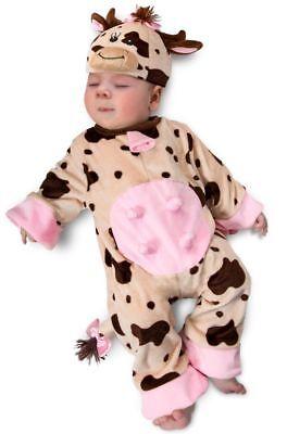 eepy Süß Kuh Zoo Tiere Kleinkinder Baby Halloween Kostüm (Kuh Halloween Kostüm Kleinkind)