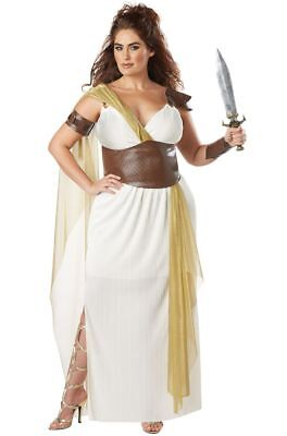 Spartan Warrior Queen Women Plus Size Costume (Spartan Costume Woman)