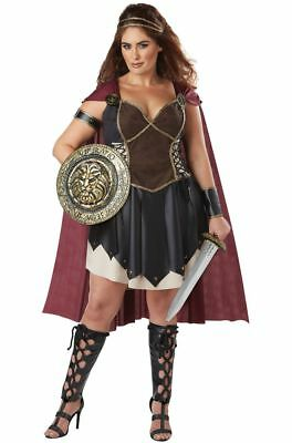 Glorious Gladiator Adult Women Plus Size Costume