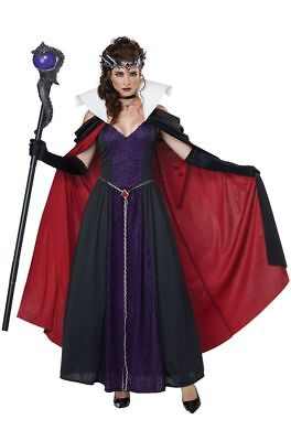 Evil Queen Once Upon a Time Regina Snow White Maleficent Cold Shoulder Costume - Costume Regina