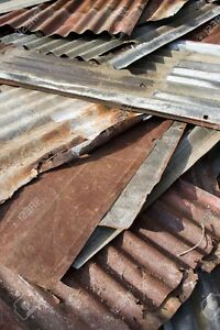Rustic Corrugated Iron Sheets - reclaimed, rusted - look great! Fitzroy Yarra Area Preview