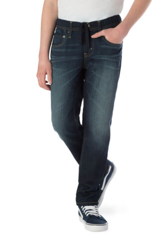 Signature by Levi Strauss & Co S67 Athletic Soft Stretch Jeans Boys 16 Husky NEW