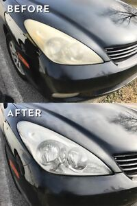 HEADLIGHT RESTORATION FOR ANY CAR ONLY $50 !!!