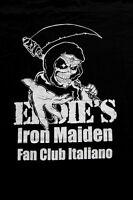 Iron Maiden Official Italian Fan Club Eddie's T-shirt Heavy Metal Official M -  - ebay.it