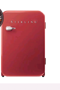 Red Stirling Vintage bar fridge Tuncurry Great Lakes Area Preview