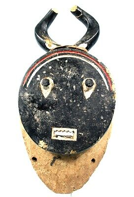 Art African - Antique & Authentic Mask Carry Baoulé from Goli - 44 Cm