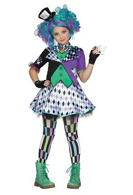 Mad Hatter Alice in Wonderland Child Costume