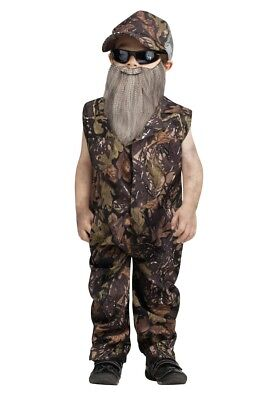 Duck Hunter Camouflage Toddler Costume - Toddler Duck Costumes