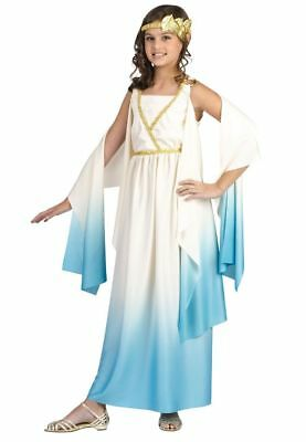 Greek Goddess Athena Girls Kids Childs Venus Halloween Costume Toga Roman - Girl Goddess Halloween Costumes