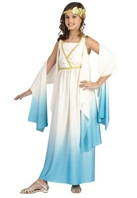 Greek Goddess Athena Girls Child Costume - Greek Costume For Girl