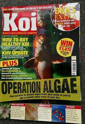 KOI MAGAZINE ~ JULY 2007 ~ ISSUE 109