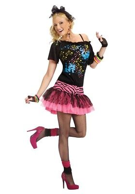 80s Madonna Costume (80's 80s Pop Party Cyndi Lauper Madonna Adult)