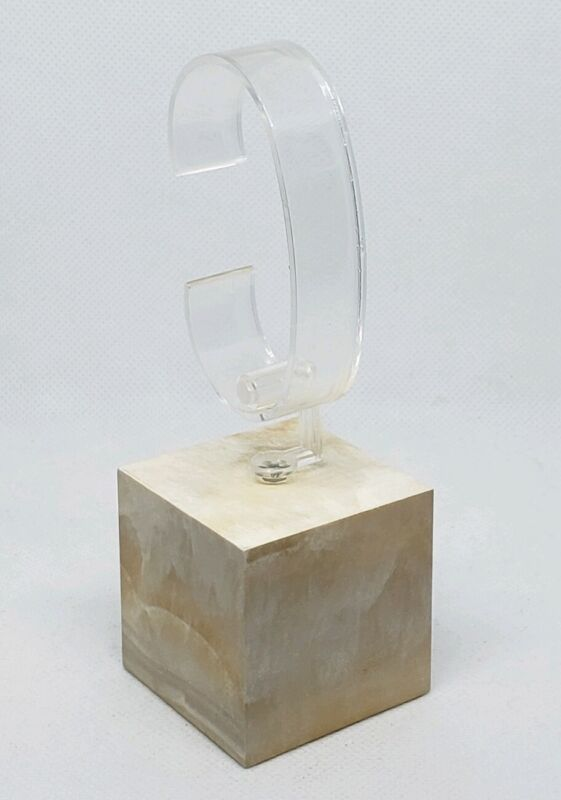 Single Watch Stand Jewelry Store Pawn Shop Display Acrylic Square Base