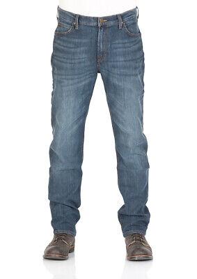 Lee Herren Relaxed Fit Jean (Lee Herren Jeans Morton Relaxed Fit - Blau - Deep Blue River)