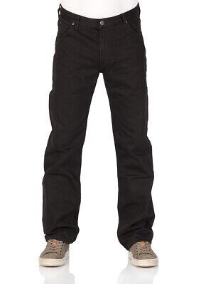 Lee Herren Relaxed Fit Jean (Lee Herren Jeans Brooklyn Comfort - Relaxed Fit - Schwarz - Black Rinse)