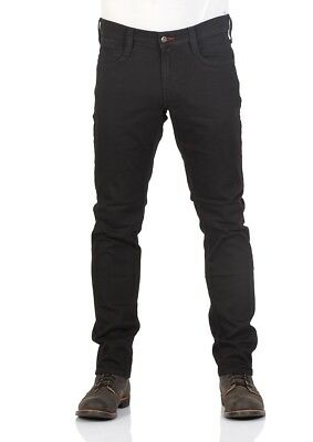 Schwarze Mustang (Mustang Herren Jeans Oregon Tapered - Schwarz - Midnight Black)