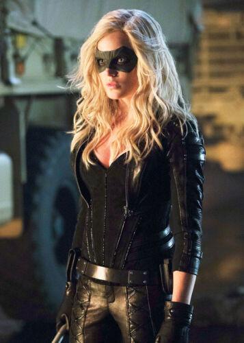 Sexy Actress Caity Lotz Black Canary 4x6 photograph HOT!!!
