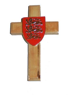 Medieval Lion Symbol (Medieval Holy Land Crusades King Richard Lion Olive Wood Battle Cross Symbol)