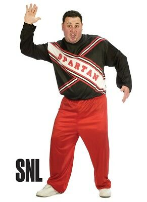 Spartan Cheerleader SNL Saturday Night Live Plus Size Adult Male Costume - Spartan Cheerleaders Snl Costume