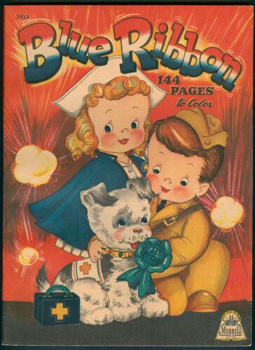 """UNCOLORED """"Blue Ribbbon"""" #3435 Merrill 1943 (7353)"""