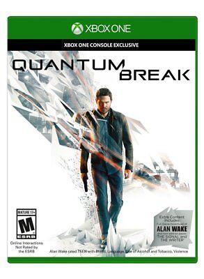 Quantum Break + alan wake complete download game Xbox One Brand NeW ! comprar usado  Enviando para Brazil