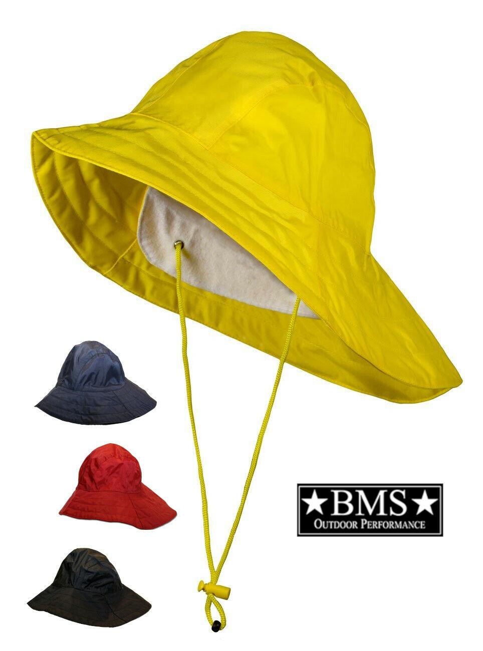 BMS Regenhut Südwester Fischerhut wasserdicht mit breiter Krempe unisex Gr.XS-XL