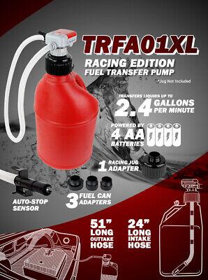 Tera Pump Fuel Transfer Pump Trfa01-xl 2.3 Gpm Battery Power 4aa Auto-stop