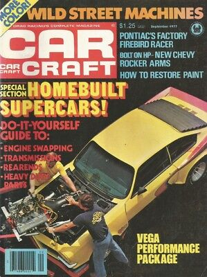CAR CRAFT 1977 SEPT - NEW TRANS AM, POLICE PACKAGE*