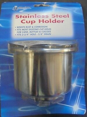 "T-H Marine - 4"" Stainless Steel Cup Holder"