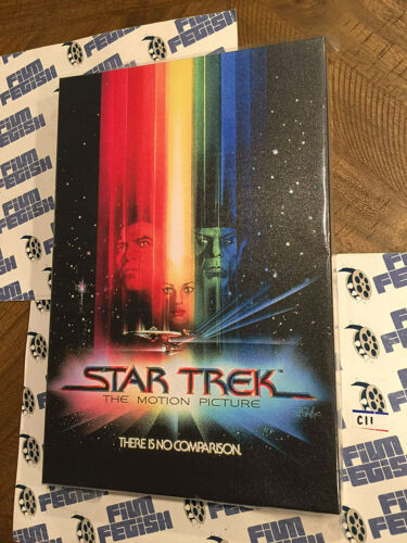 Star Trek The Motion Picture Movie Poster 12×18 Licensed Canvas Print [C11]