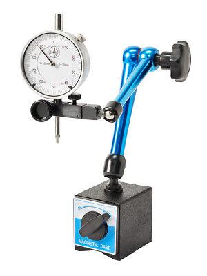 WABECO Magnet Messstativ mit Messuhr Zentralklemmmung Messuhrhalter 11338 (Messuhr Magnet)