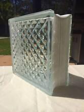 Glass brick block  x 6 in a box Thornton Maitland Area Preview