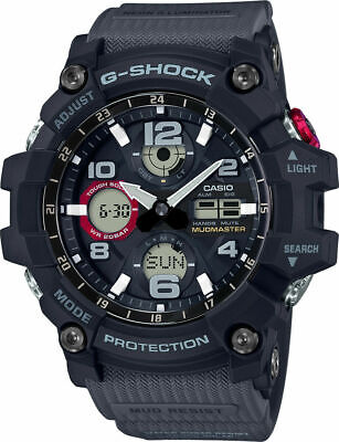 CASIO GSG-100-1A8 G-SHOCK MUDMASTER Tough Solar Black Men's watch