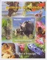 Sao Tome Rhinoceros Massoneria Franc-maçonnerie Mint Mnh Masonic Freemasonry -  - ebay.it