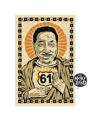 Muddy Waters 61 Blues poster from Mojohand - free US Shipping!