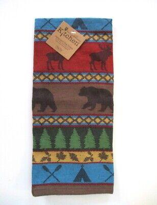 Kay Dee Designs - Jacquard Tea Towel - Lake Lodge - NWT