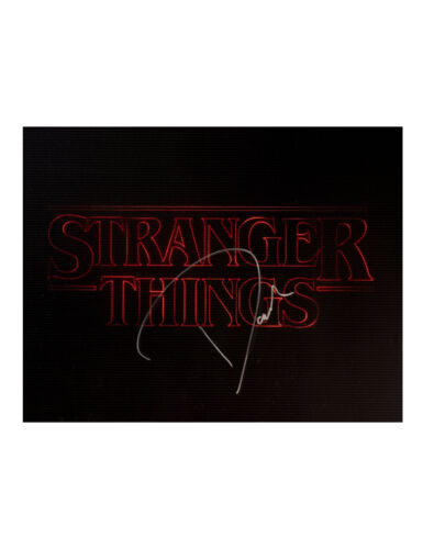 Stranger Things Print Signed by David Harbour 100% Authentic With COA