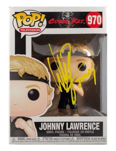 Johnny Lawrence Cobra Kai Funko Pop Signed by William Zabka 100% With COA