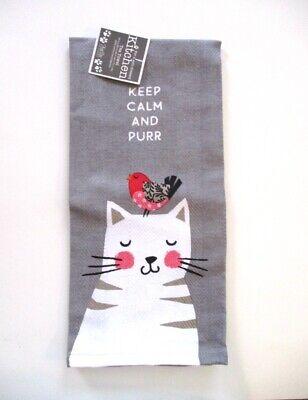 Kay Dee Designs - Tea Towel - Purr - NWT